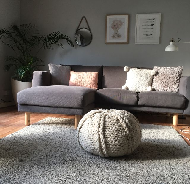 ikea norsborg sectional sofa home   wohnzimmer