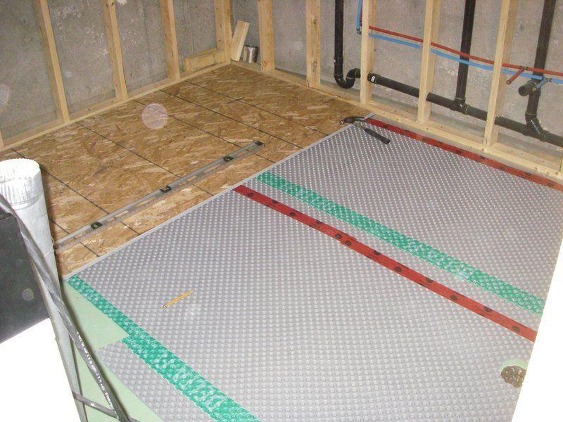 Basement Sub Floor Greg Maclellan Basement Subfloor Basement Insulation Basement Flooring Options