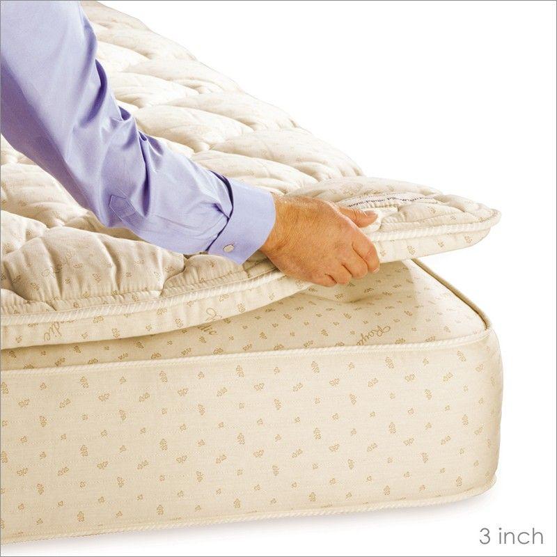 King Size Pillow Top Mattress Pad With Images Pillow Top