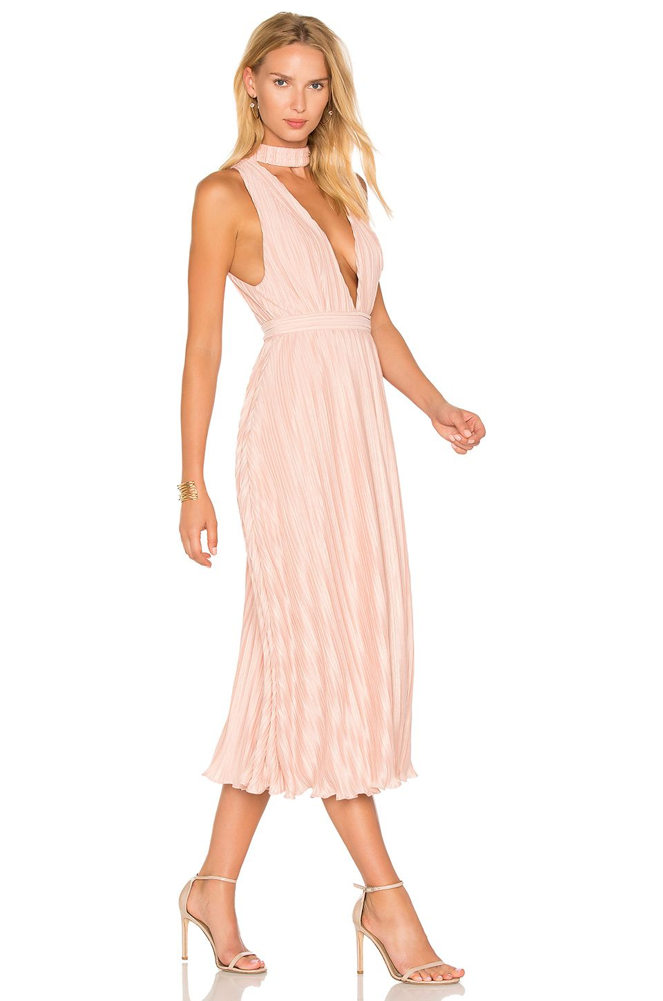 NBD Maeve Dress in Pale Nude | REVOLVE