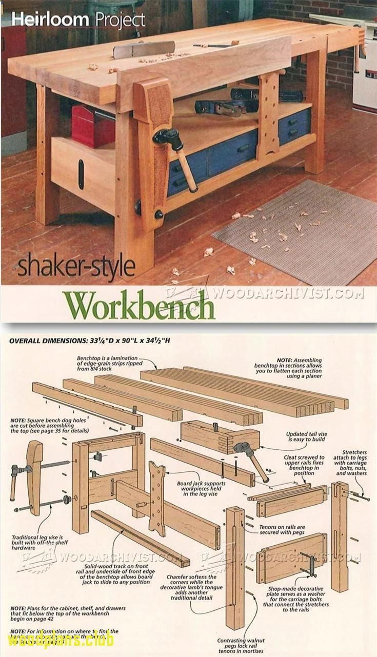 Woodworking bench plans - Cannot believe I made this Just what we need in the new room tedswoodworking