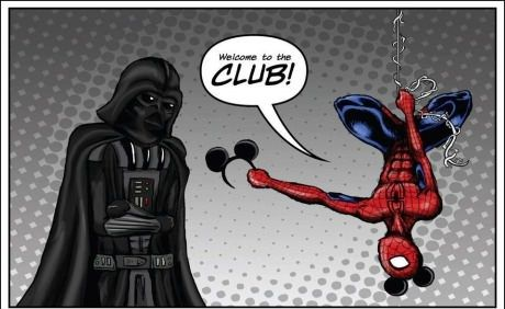 Hahaha Darth Vader don't look so happy....