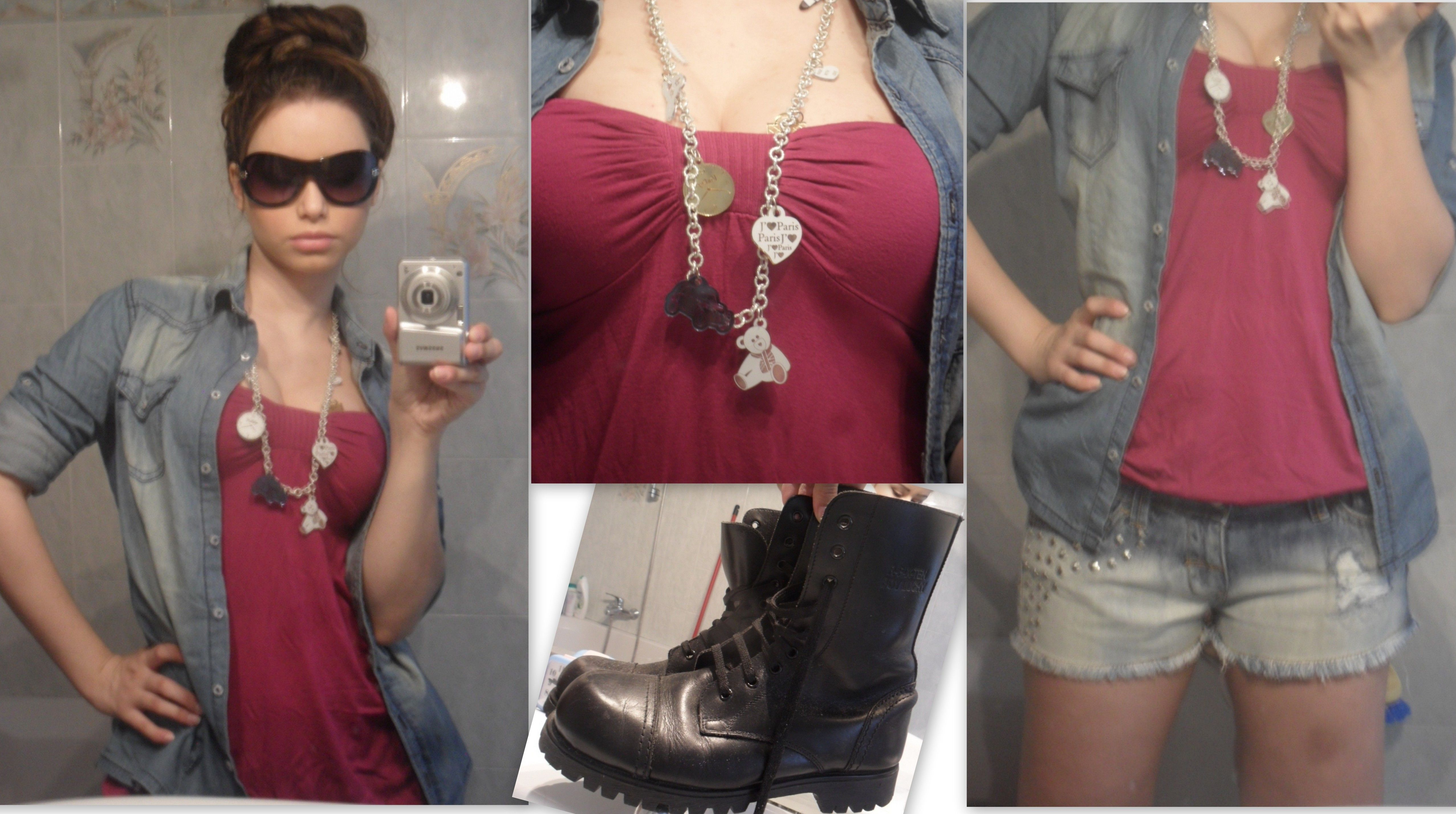 My Spring Look!  Follow me on youtube: http://www.youtube.com/user/Kappalicious91