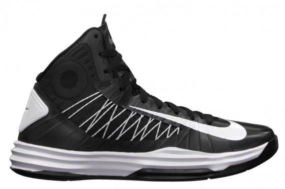 new concept 2c8a6 cac89 Womens Hyperdunks 2012 TB Black White Metallic Silver 524882 001