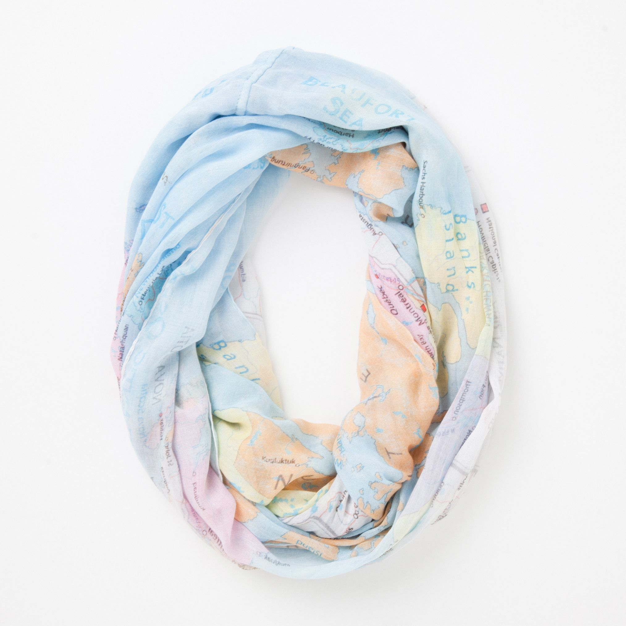 763816749 Map Of Canada Infinity Scarf   Roots Scarves for Women   Accessorize ...