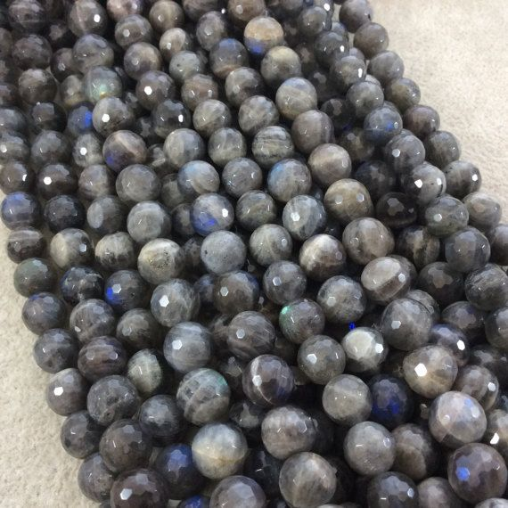 20 x 8mm AB Indigo Crystal Faceted Abacus Glass Beads