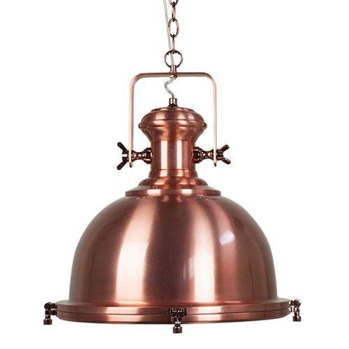 merton pendant light industrial copper house pinterest