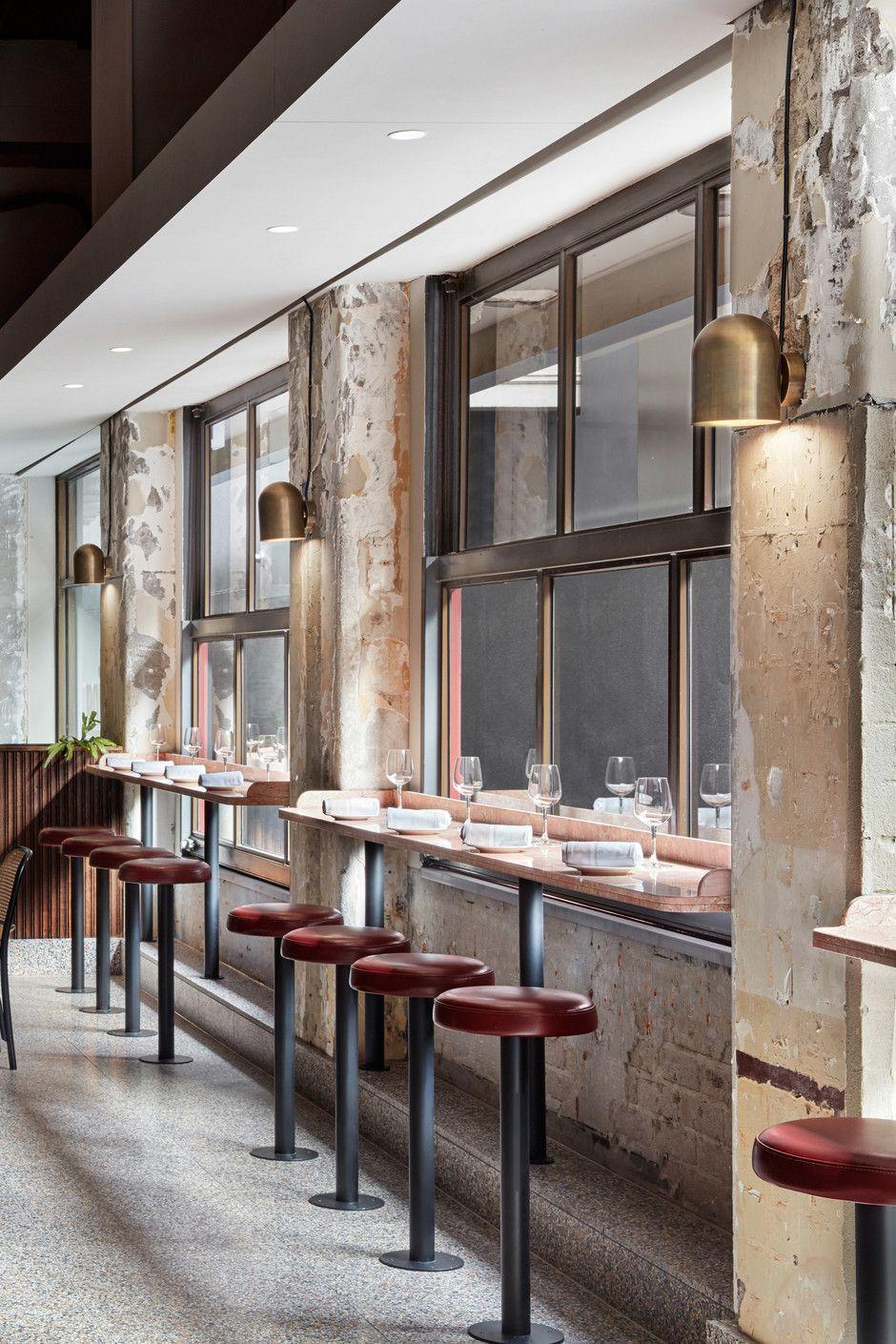Vintage Industrial Bar And Restaurant Designs Restaurant Seating Restaurant Interior Restaurant Decor
