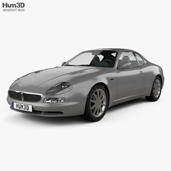 3D model of Maserati 3200 GT 1998