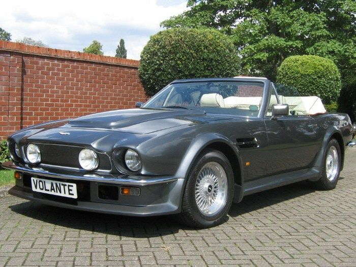 1988 Aston Martin V8 Vantage Volante Still See What I Mean Amazing