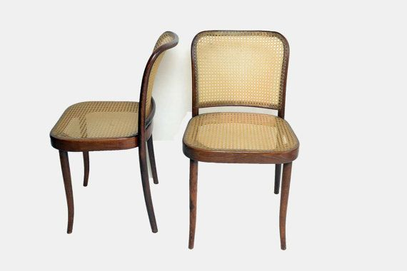 Awe Inspiring 6 Thonet Bentwood Cane Dining Chairs 1950 1960 Mid Century Ncnpc Chair Design For Home Ncnpcorg