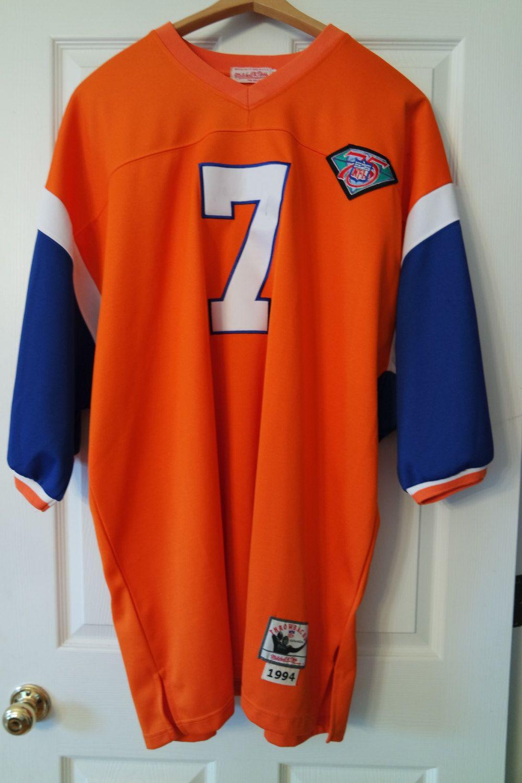 Vintage Denver Broncos John Elway 1994 Mitchell   Ness Throwback Jersey by  sweatergirlthrift on Etsy e2da604ba