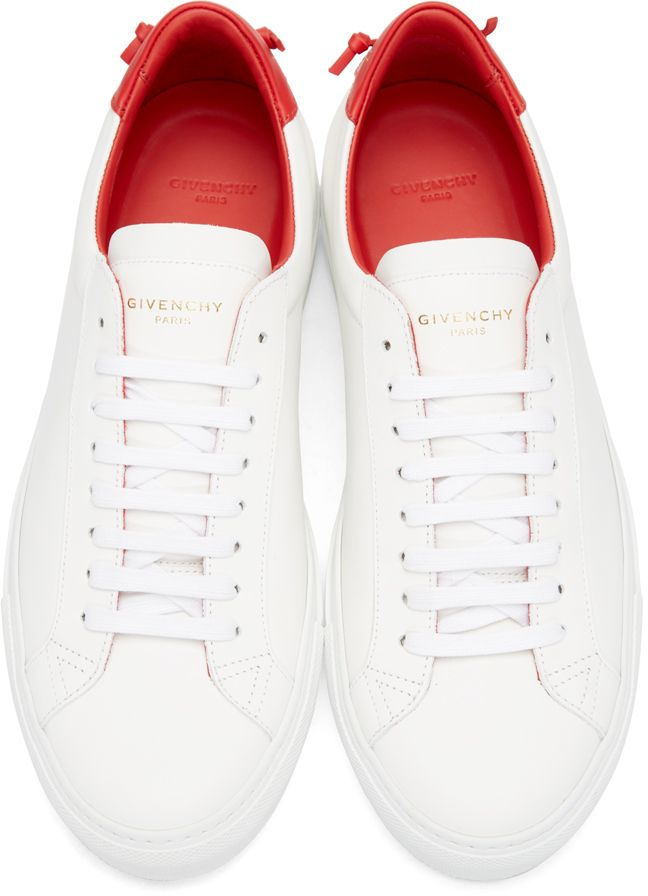 1a7b6b7917e3 Givenchy  White Urban Knots Sneakers