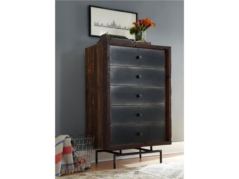 Nash 5 Drawer Highboy VBNA-DR271
