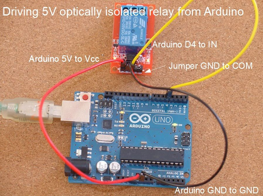 Home Automation How To Add Relays To Arduino Aquarium
