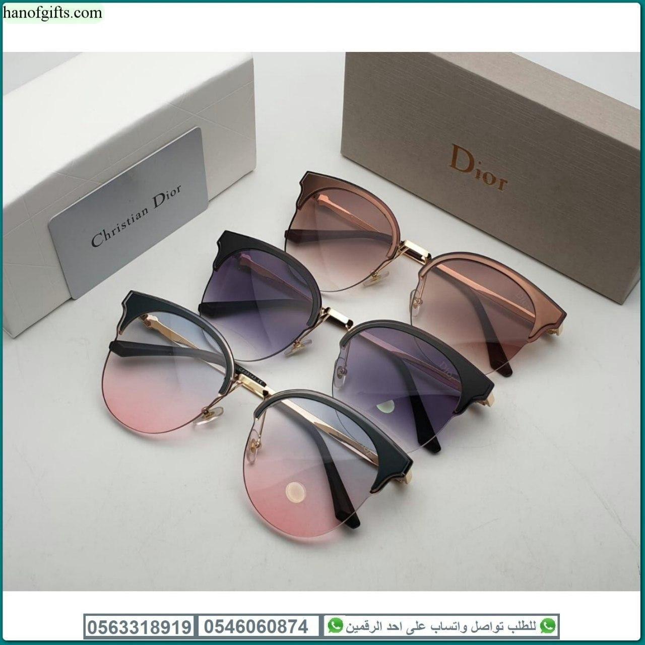 نظارات ديور نسائيه Dior بدرجه اولى مع كامل ملحقاتها و بنفس الاسم هدايا هنوف Women S Accessories Sunglasses Eye Sunglasses