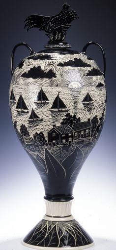 Ampullae Pottery Sgraffito Google Search Ceramic Sculpture Ceramics Pottery Sculpture