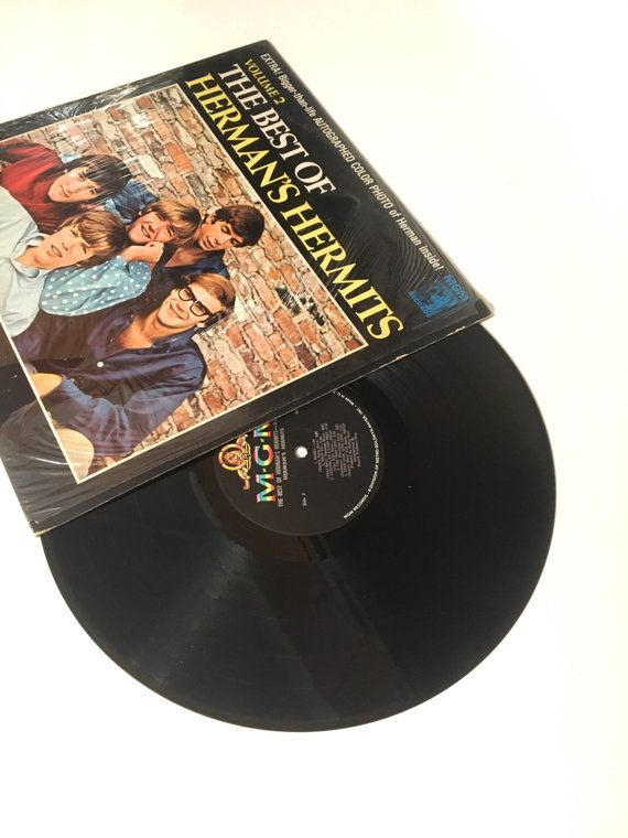 Hermans Hermits Volume 2 The Best Of Hermans Hermits Label Mgm Records E 4416 Mgm Records E4416 Format Vinyl Records Records For Sale Pop Rocks
