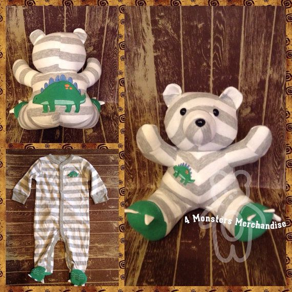One sleeper memory bear keepsake bear memorial personalized baby one sleeper memory bear keepsake bear memorial personalized baby gift custom negle Images
