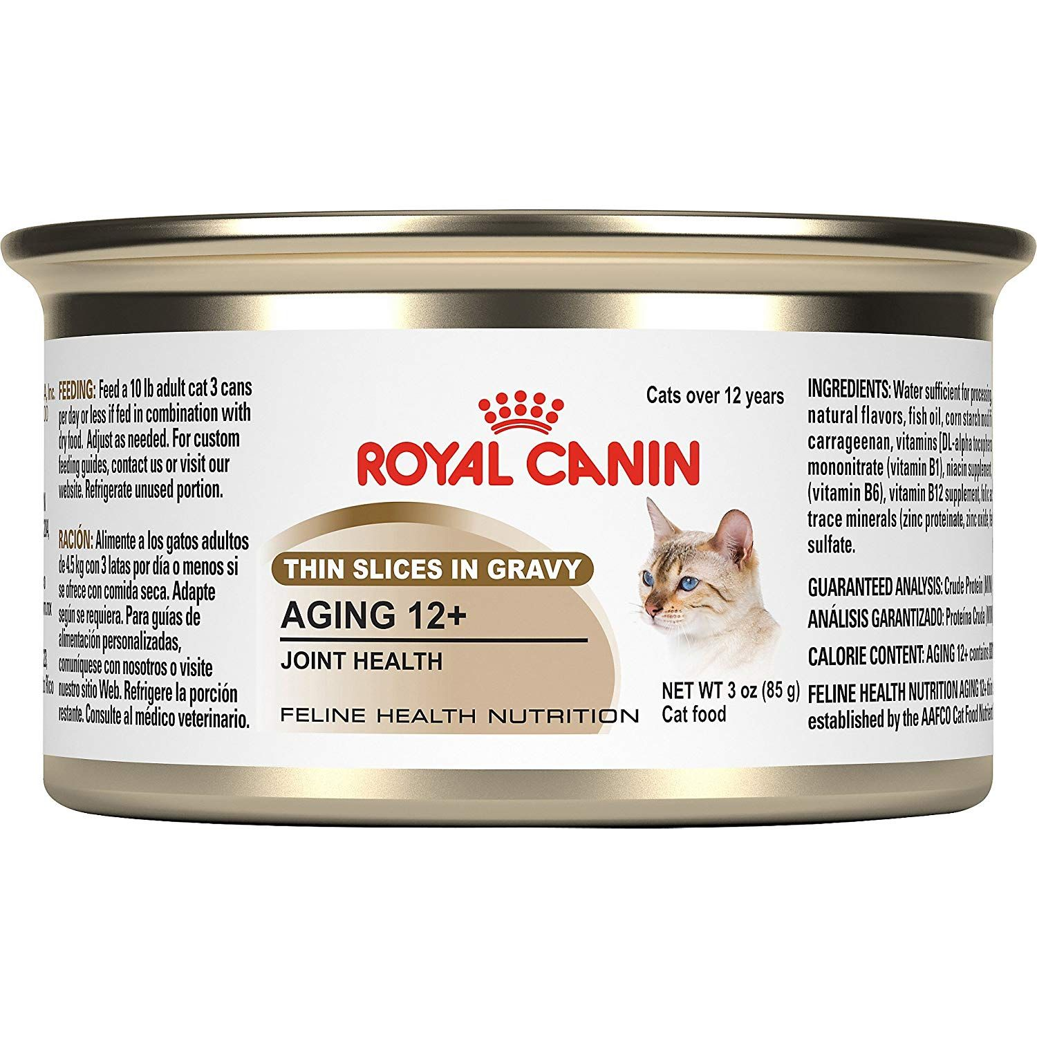 Royal Canin Feline Health Nutrition Aging 12 Joint Health Canned Cat Food Check This Awesome Product By Going To Feline Health Cat Nutrition Canned Cat Food