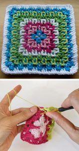 Crochet Fireworks Granny