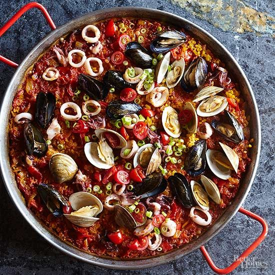 Better Homes And Gardens Paella Recipe