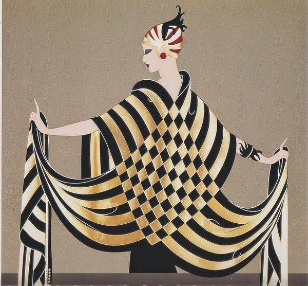 art et glam ert ses l gants dessins de mode de la p riode art d co art pinterest. Black Bedroom Furniture Sets. Home Design Ideas