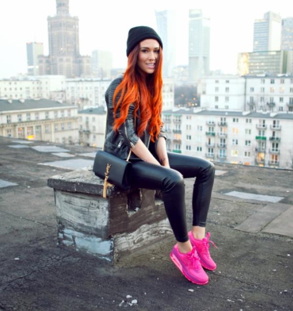 12 Brillantes ideas para conseguir un outfit Neon Dark. Fall OutfitsNike  SneakersLeggingsDark ...