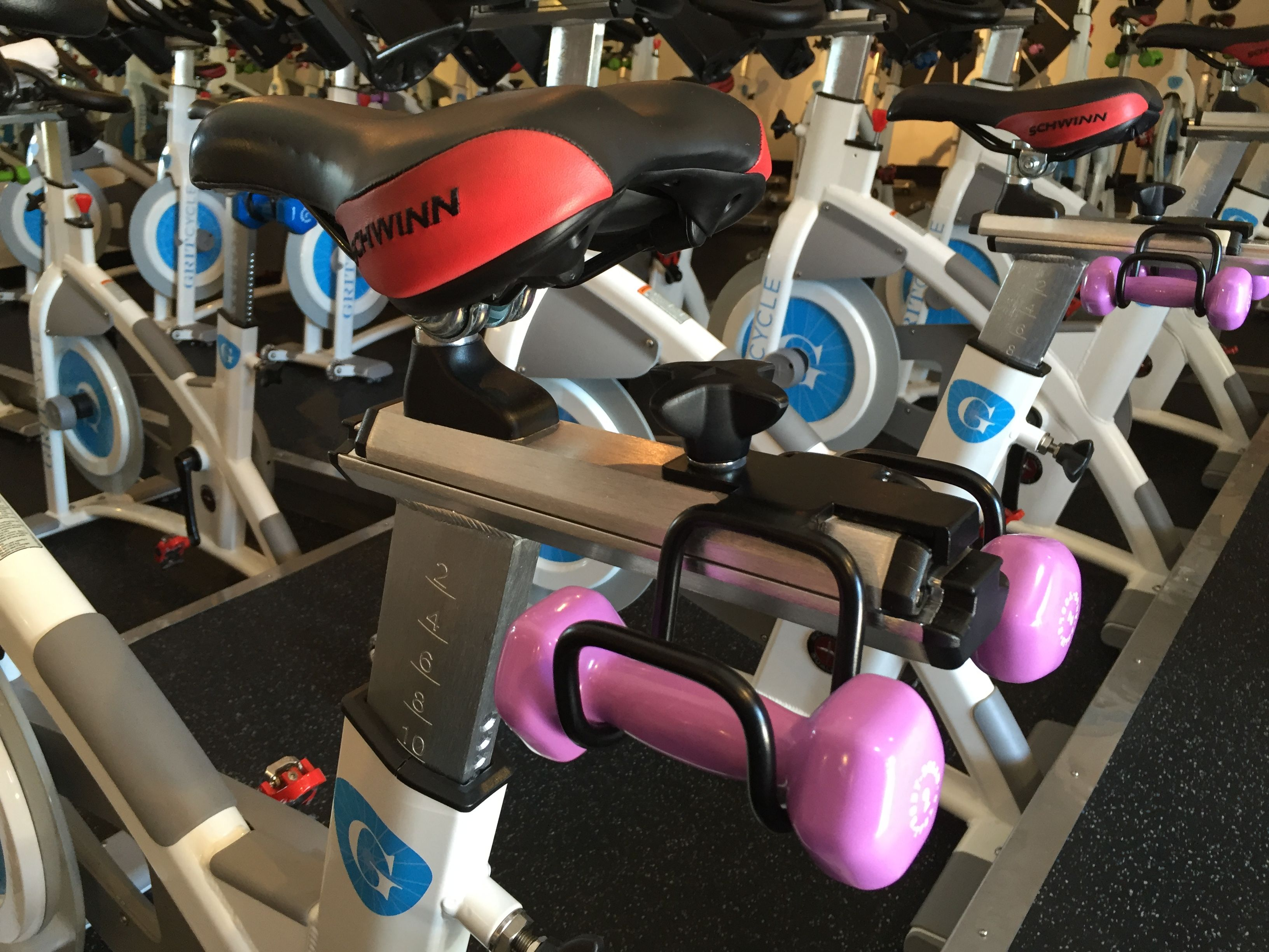 Hand Weight Holders Grit Cycle Custom Indoor Cycles Indoor