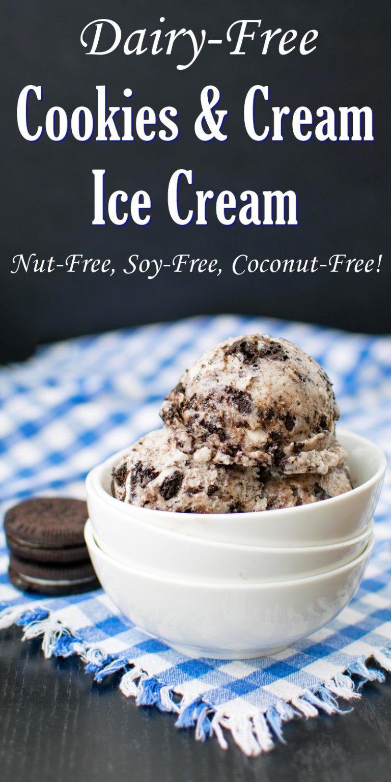 Cookies and cream ice cream recipe dairyfree coconut
