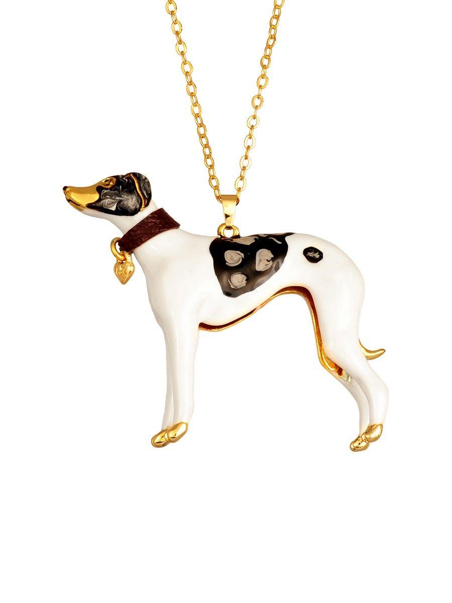 #lesnereides#N2bylesnereides #jewelry#necklace#enamel #animal#dog #cute Shop on#lesnereides-usa.com