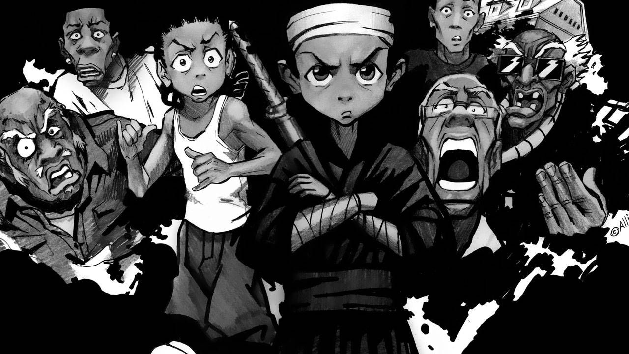 Boondocks Wallpaper HD WallpaperSafari Рисунок
