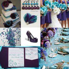 Tiffany Blue And Purple Wedding Theme Google Search