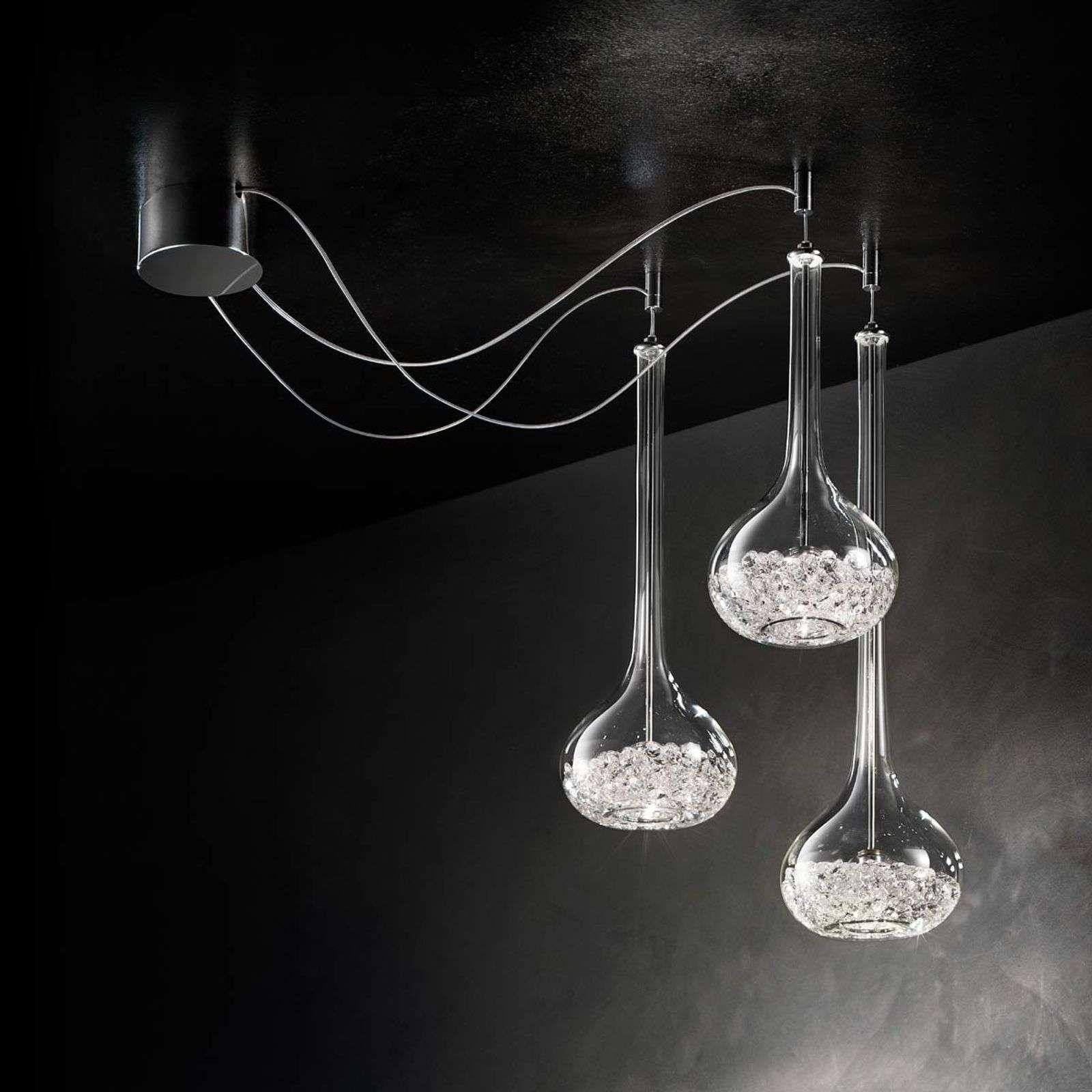 Magnifique Suspension A 1 Lampe Graal Lampe Suspension Luminaire Moderne Et Lumiere De Lampe