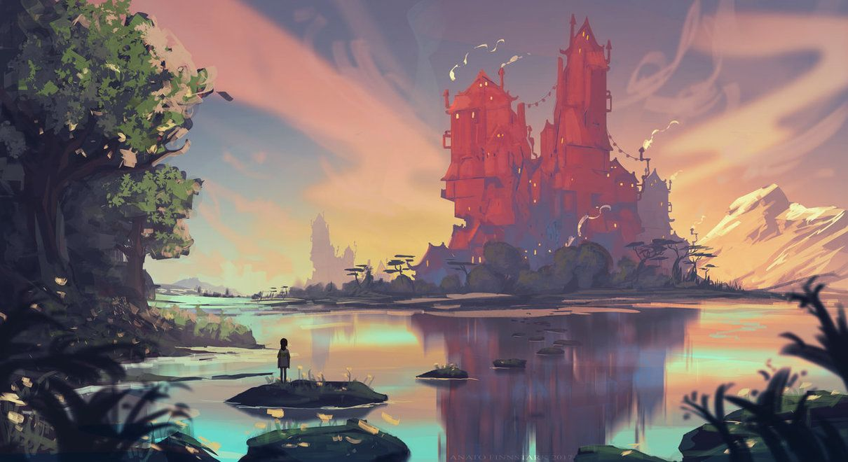 Spirited Away Chihiro By Anatofinnstark Fantasy Landscape Animation Art Art