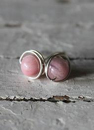 rohodonite pastel pink ~ Joleen Sohier Jewelry