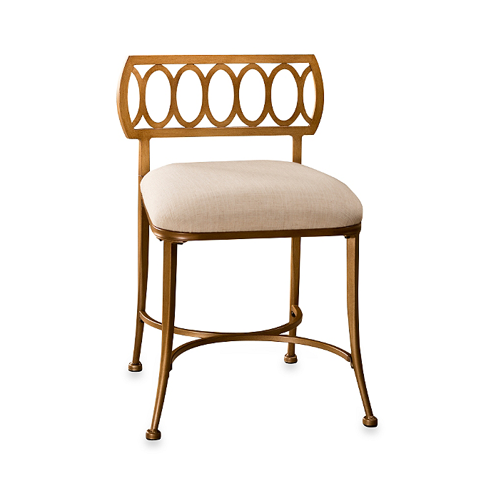 Buy Canal Street Vanity Stool From Bed Bath Beyond Hillsdale