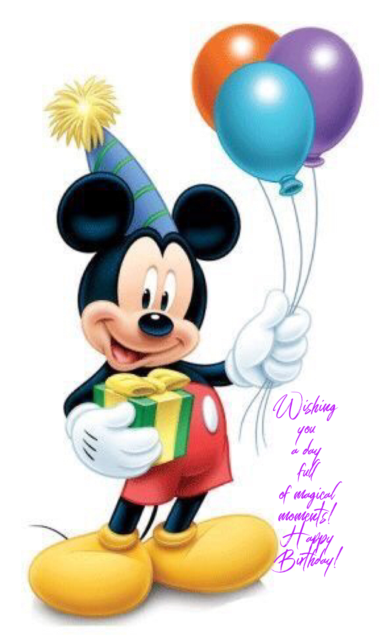 Magical Moments Happy Birthday Mickey Mouse Pictures Mickey
