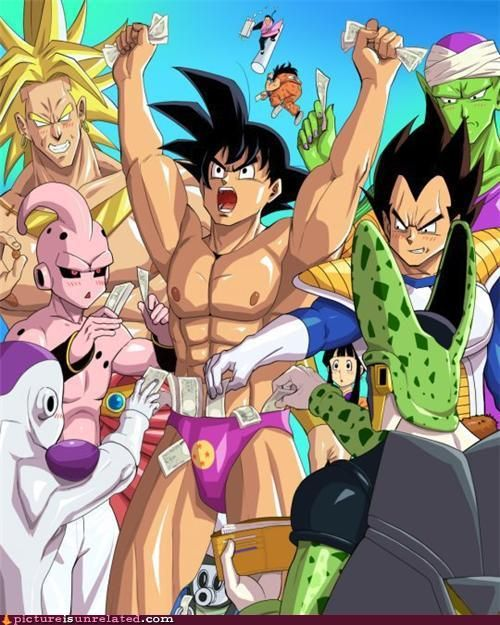 Dragonball gay picture z