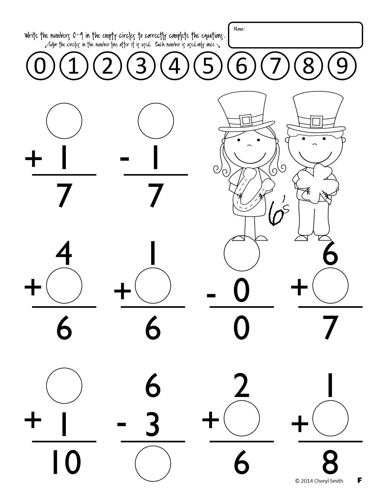 Math Facts St Patrick S Day Easter Addition And Subtraction Addition And Subtraction Worksheets Math Facts Subtraction Worksheets [ 1650 x 1275 Pixel ]