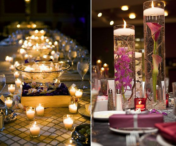 Centros de mesa para quinceanera 2013 boda usando for Mesas centro originales
