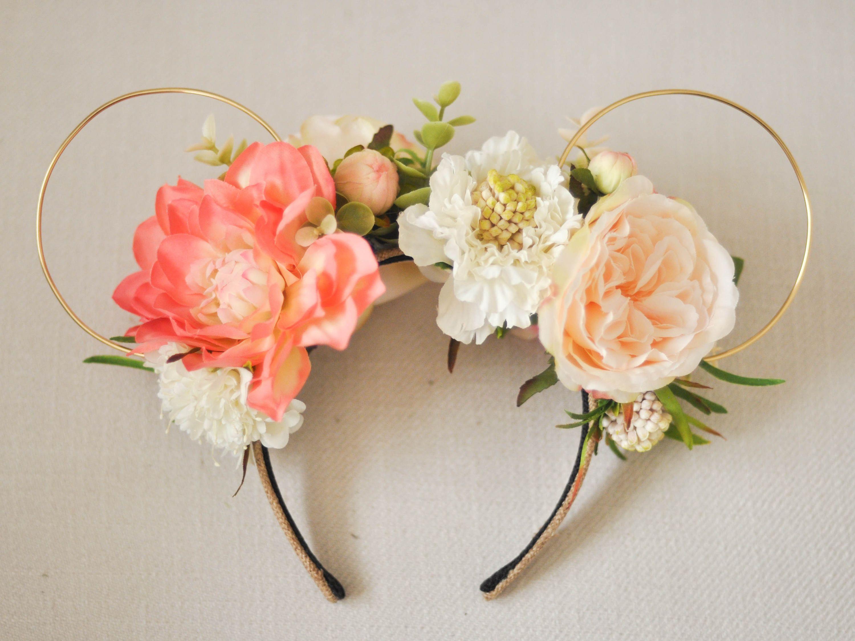 flower  u0026 garden festival inspired floral mouse ears