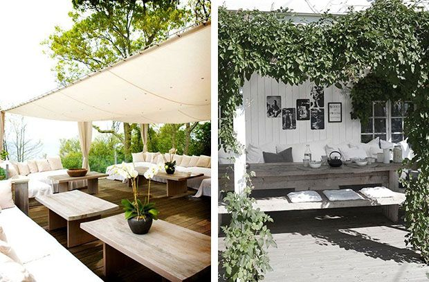 Arredare il giardino con le tende da sole Arredamento