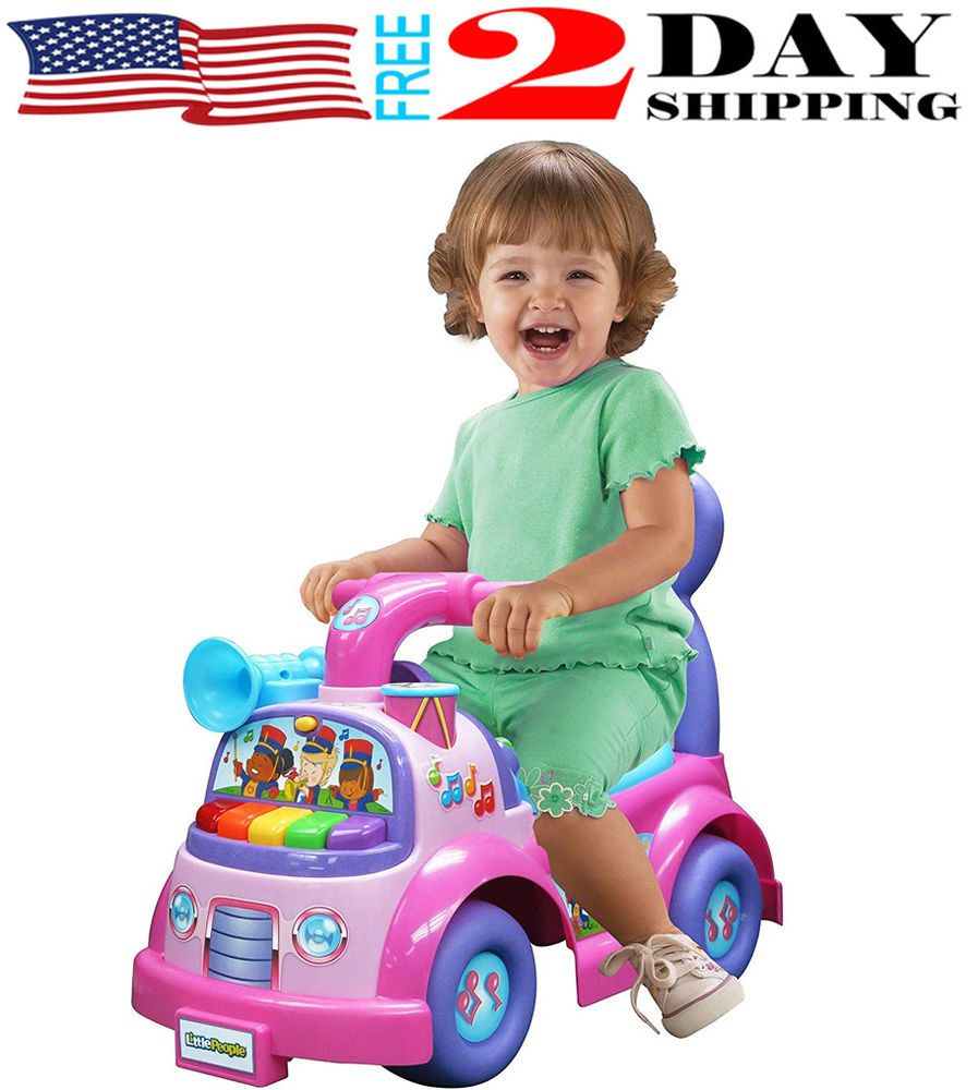 bb8a745ccf9 Ride On Toys For 1 Year Old Learning Riding Educational Girls Boys Toddler  Kids