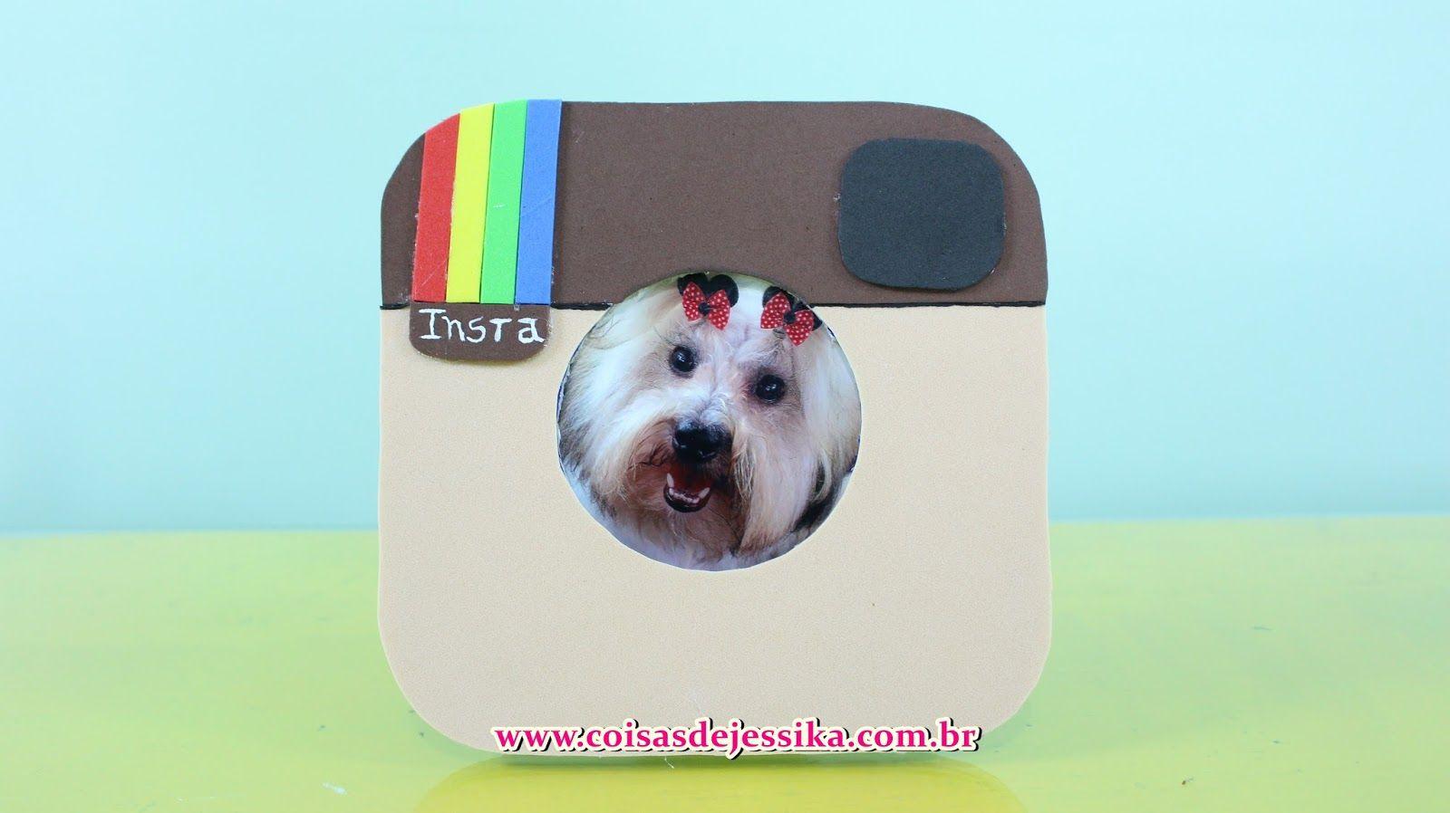 Coisas de Jessika: Porta Retrato Instagram - Faça você mesma