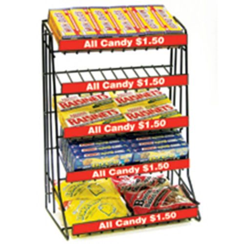 Fast Shipping Countertop Candy Display Rack 5 Shelf Candy