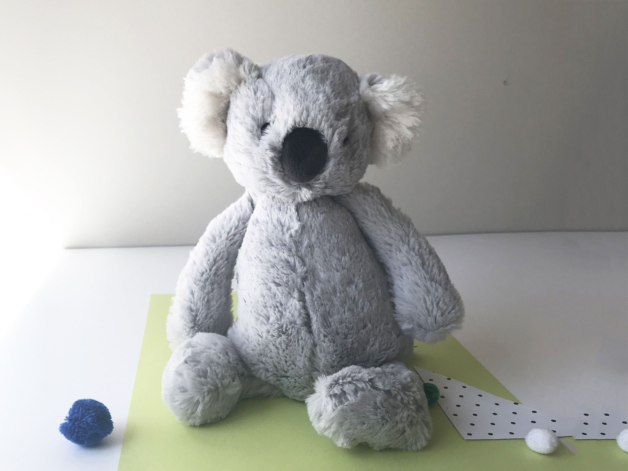 Jellycat Bashful Koala Australia Baby Soft Toys Young Willow Alphaprints Animal Opposites