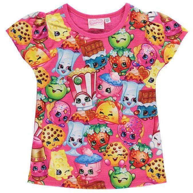 Shopkins t-paita
