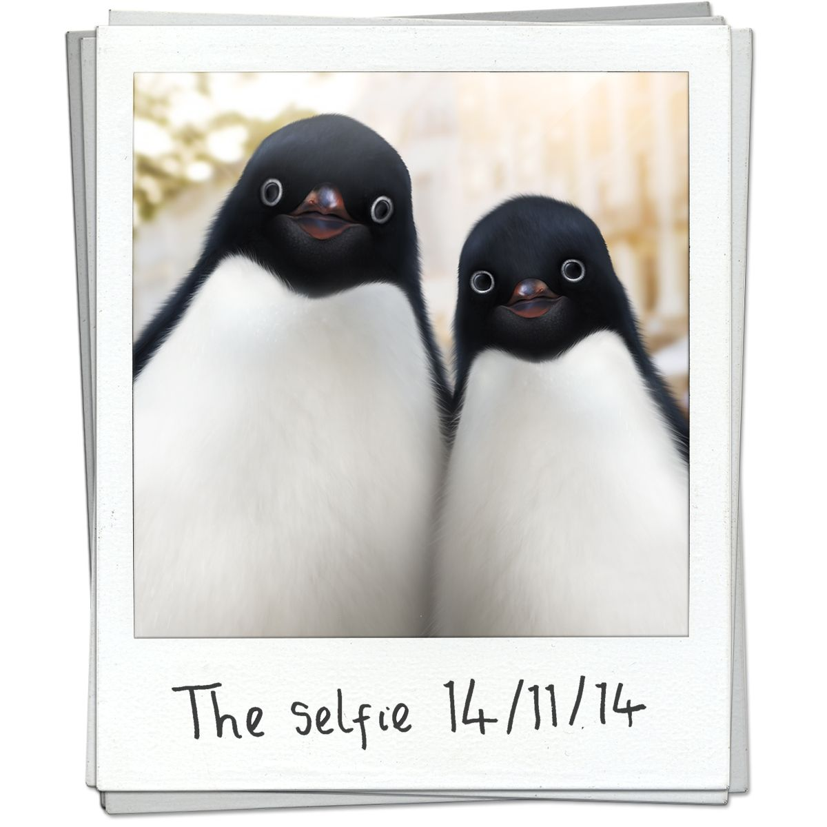 #selfie John Lewis pengwings!