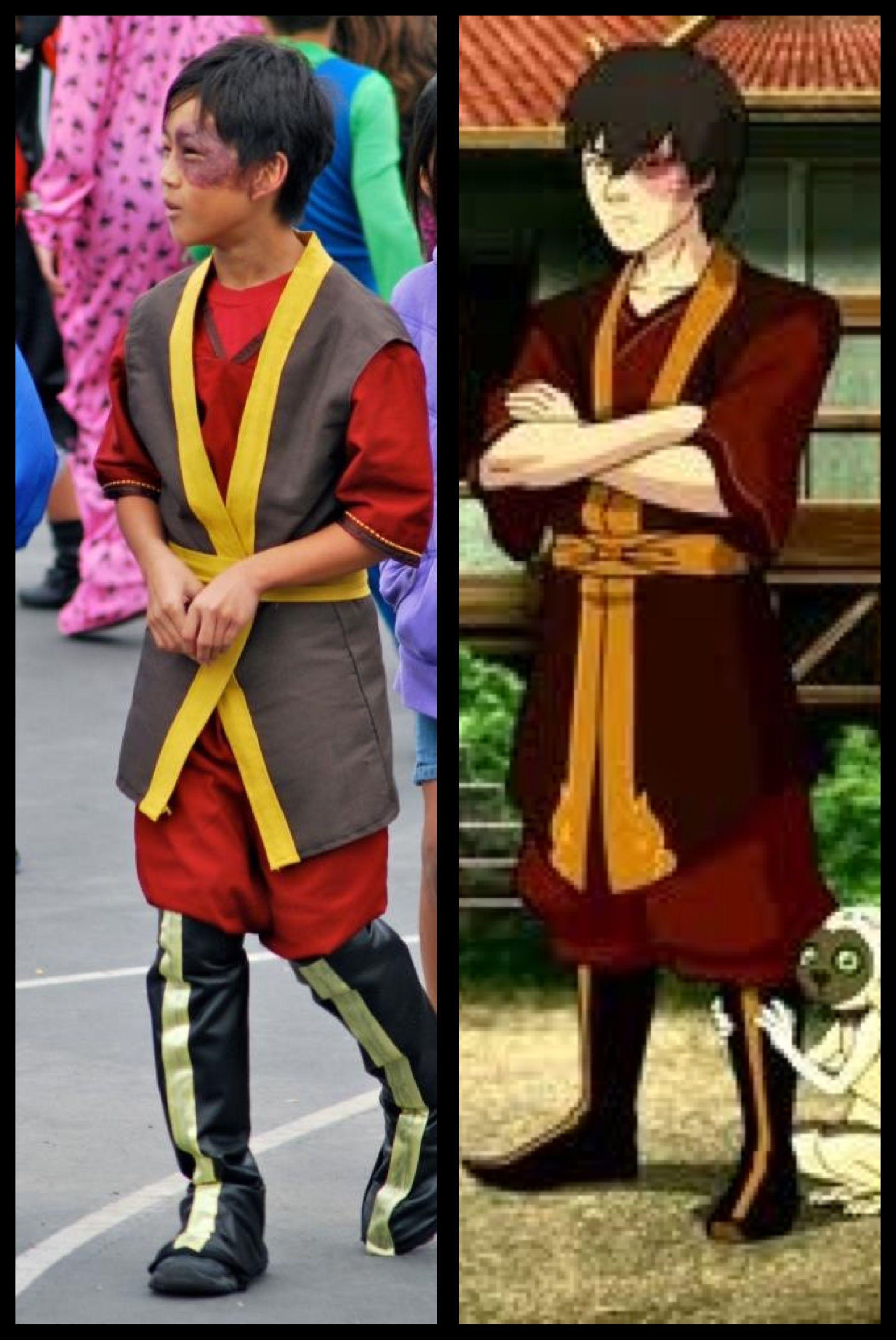 Prince Zuko costume that my son begged me to make.